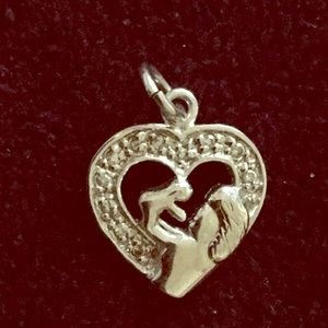 Jewelry - Mother and child necklace charm